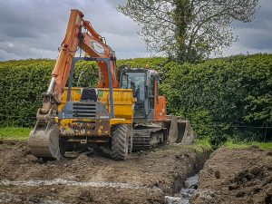 Meath Plant Hire Dumper and Excavator